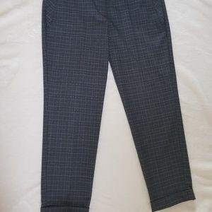 LOFT Petites Marisa Straight Cropped Pants 4P